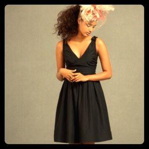 BHLDN black beribboned dress